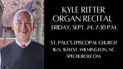 Kyle Ritter Organ Recital at St. Paul's Episcopal Church tickets