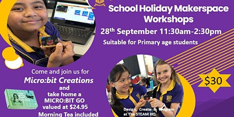 The STEAM HQ presents Micro:bit Creations tickets