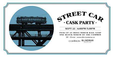 Blindman Brewing Street Car - Cask Beer Launch tickets