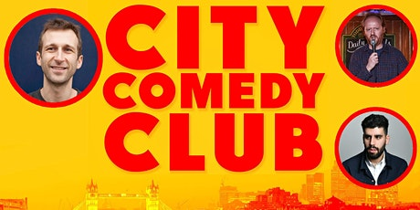 CITY COMEDY CLUB: 09 OCT: 8:00PM tickets