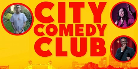 CITY COMEDY CLUB: 14 OCT tickets