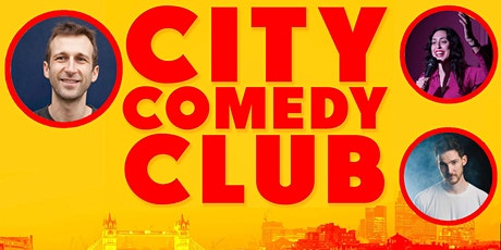 CITY COMEDY CLUB: 15 OCT tickets