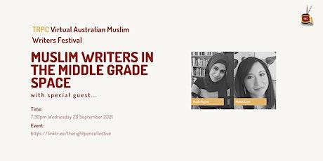 TRPC Virtual Festival: Muslim Writers in MG w/Huda Hayek & Melati Lum tickets