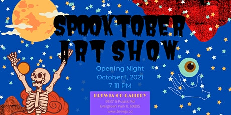 Spooktober Art Show Opening Night at the Brewja Co Gallery tickets