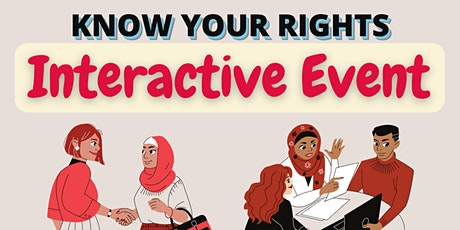 Know Your Rights: Interactive Event! tickets
