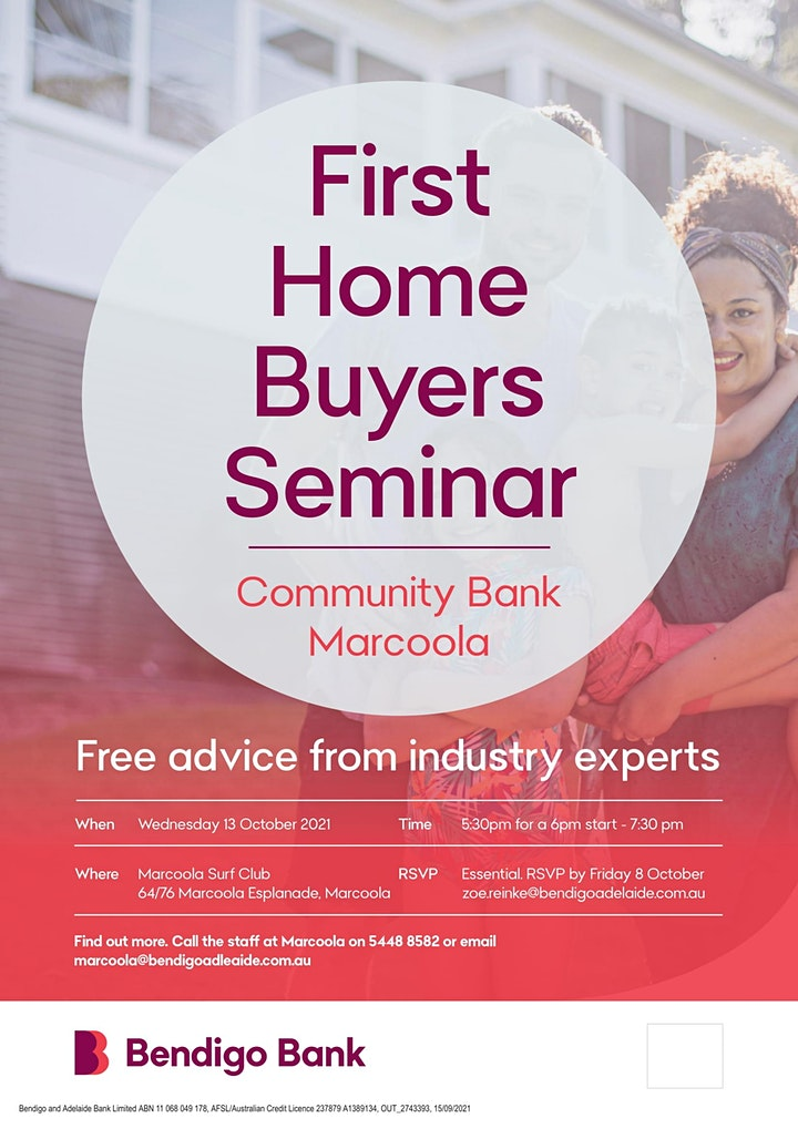 First Home Buyer Seminar image