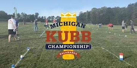 2021 Michigan Kubb Championship tickets