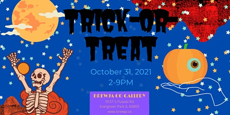 Trick-or-Treat! at the Brewja Co Gallery tickets