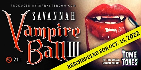 Vampire Ball III (Savannah, GA) tickets