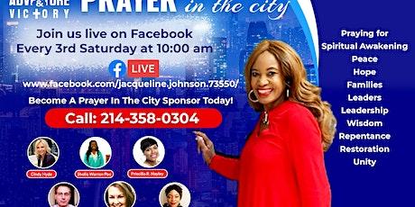 Prayer In the City  via Zoom tickets