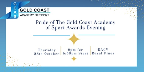 Gold Coast Academy of Sport 2021 Awards Evening tickets