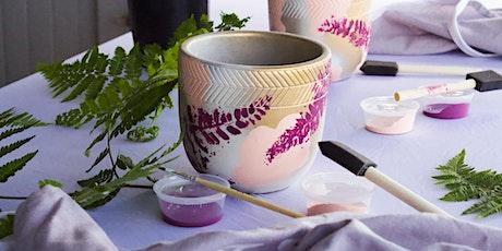 Kid's Creative Workshop - Japanese Inspired Flower Pot $39 tickets