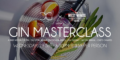 Gin Masterclass - presented by West Winds tickets
