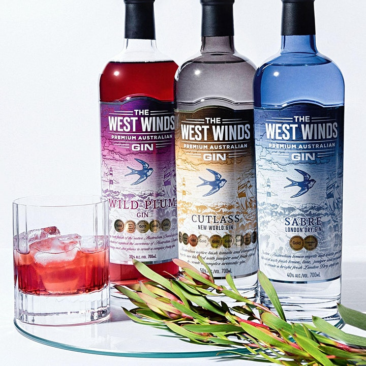 Gin Masterclass - presented by West Winds image