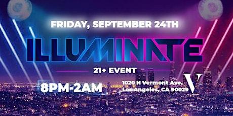 illuminate @ Vermont Hollywood tickets