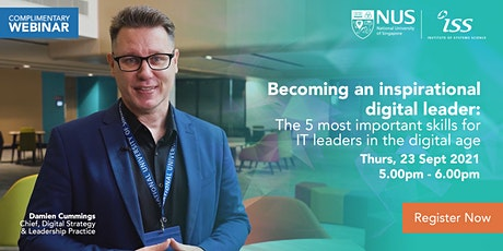 Becoming an Inspirational Digital Leader: The 5 most important skills tickets