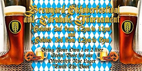 Brewyard Cornhole Tournament Sign-ups tickets