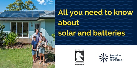 All you need to know about solar and batteries  - City of Whitehorse tickets