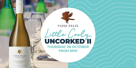 Little Cooly Uncorked Wine Dinner: Vasse Felix Wines tickets