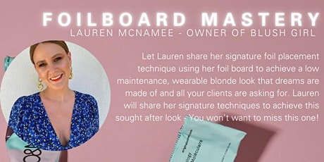 Foilboard Mastery With Lauren McNamee tickets