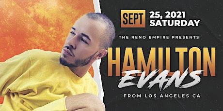 Hamilton Evans Masterclass tickets