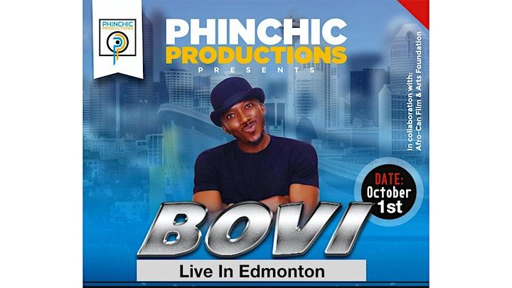 PHINCHIC PRESENTS BOVI LIVE IN EDMONTON image