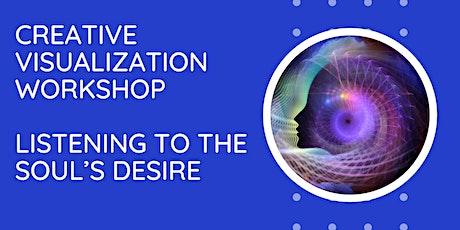 Creative Visualization Part One Workshop Online tickets