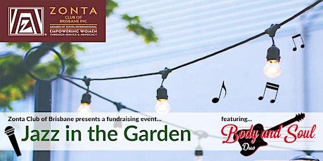 Jazz in the Garden tickets