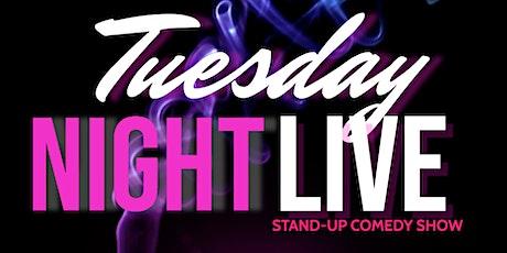 Tuesday Night Live ( Stand-Up Comedy ) MTLCOMEDYCLUB.COM tickets