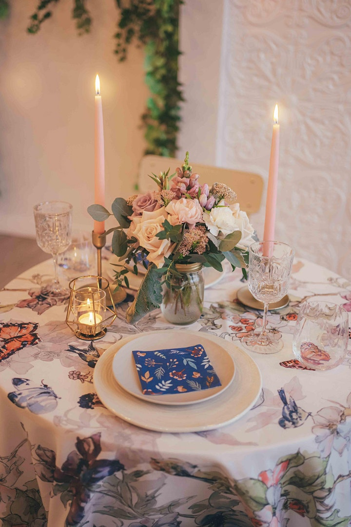 Candlelight Dinner and Live Acoustic Music in The Secret Garden image