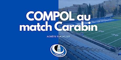 COMPOL au Match Carabin billets