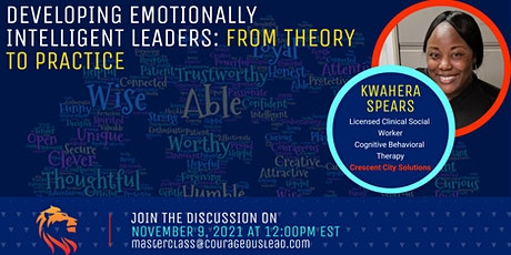 Developing Emotionally Intelligent Leaders: From Theory to Practice tickets