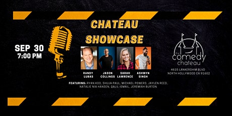Chateau Showcase  at the Comedy Chateau (9/30) tickets