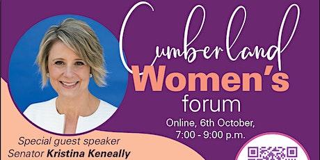 Cumberland Women's Forum tickets