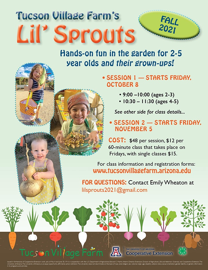 Lil' Sprouts Fall 2021 Sessions image