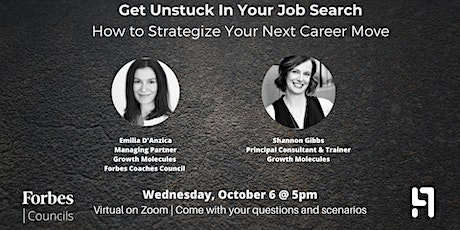 Get Unstuck: How to Strategize Your Next Career Move tickets