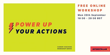 Free online workshop: Power up your actions tickets