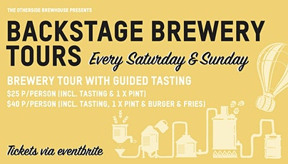 Backstage Brewery Tours tickets