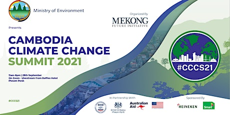 Cambodia Climate Change Summit 2021 tickets