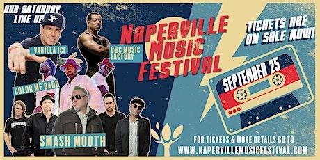 Naperville Music Festival W/  Vanilla Ice, Smash Mouth, Color Me Badd, C C tickets