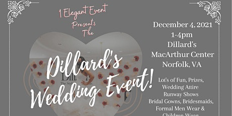 Dillard's Wedding Event tickets