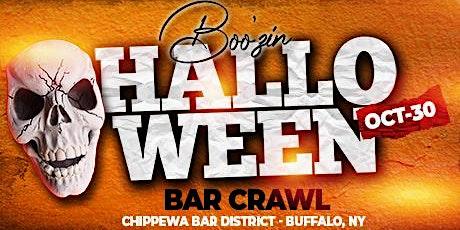 Halloween Boo'zin Bar Crawl - Buffalo tickets