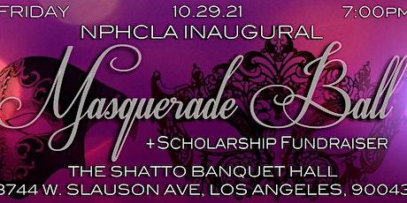 NPHC LA Inaugural Scholarship Fundraiser Masquerade Ball tickets
