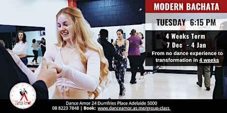Modern Bachata Beginners Dance Class Adelaide - Tues 6:15 PM - 7 Dec tickets
