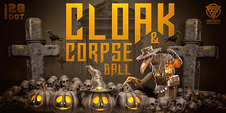 Cloak and Corpse Ball tickets