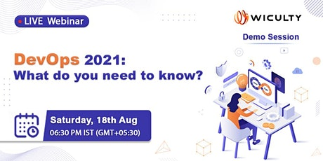 DevOps 2021: What do you need to know? tickets