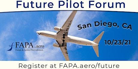 FAPA Future Pilot Forum, San Diego, CA, October 23, 2021 tickets