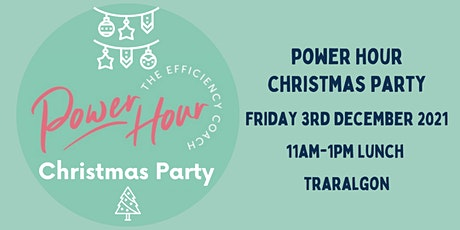 Power Hour Christmas Party tickets