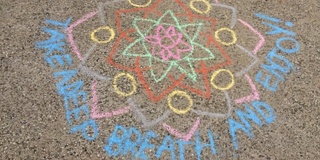 Mandala Magic in Chalk - A Makerspace Program (Session 2) tickets