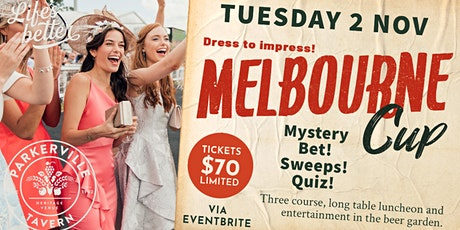 Melbourne Cup at The Parkerville Tavern tickets